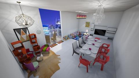 Living Room for Families - Living room - by Alexa Design