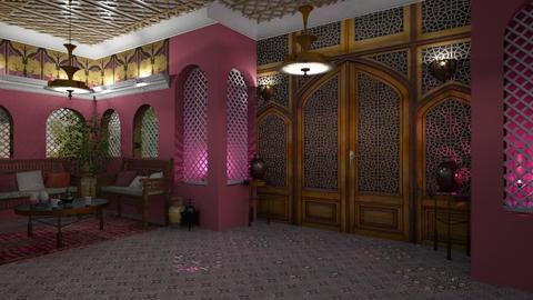 Entrance - by marocco