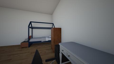 Alejandro Gomez - Bedroom - by alumnes