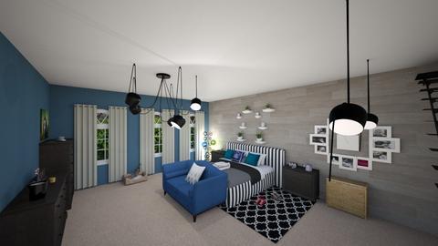 basement room - Bedroom - by ashazel99