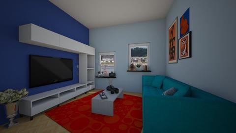 Living Room 3  - Minimal - Living room - by roomermakerthingyer
