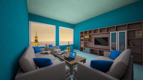 window top - Living room - by Badgalriri