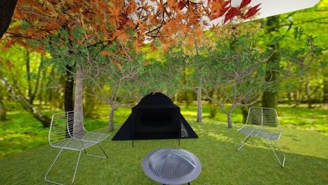 camp grounds - Garden - by Cora_da_B0ss