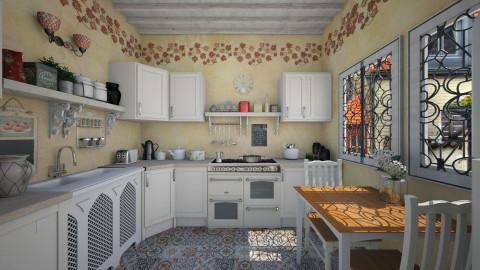 Small kitchen - Kitchen - by Lizzy0715