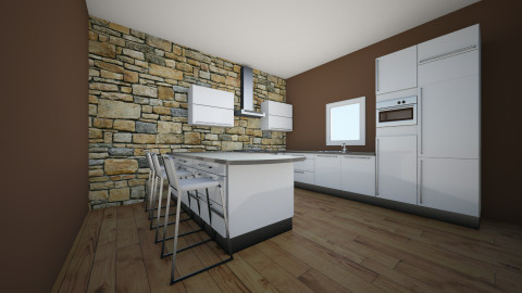 kitchen design 1 - Country - Kitchen - by Kjade D