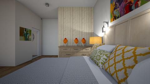 hotel room view   - by mali savir