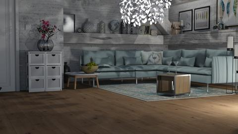 ARTISAN FLOORING template - Living room - by fungiperfecti