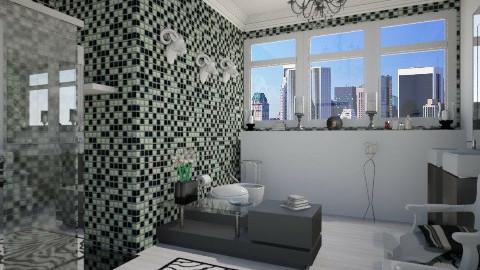 Black And White Bathroom - Modern - Bathroom - by giulygi