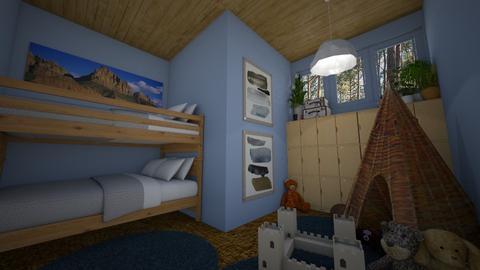 Boys Bedroom - Kids room - by amyskouson