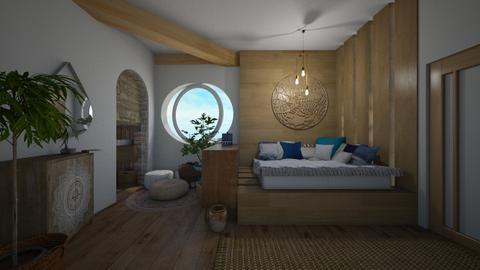 boho bedroom - Bedroom - by i l o n a