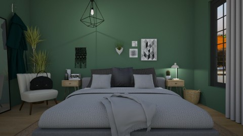 colour bedroom - by ash_lee