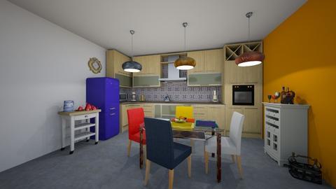 Styling color  kitchen - Kitchen - by antonieta123