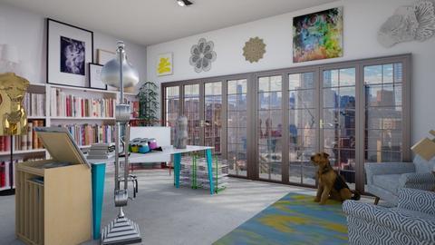 Artist Studio  - Living room - by cp_interiors