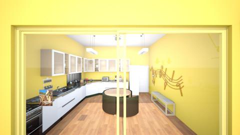 new home kitchen - Modern - Kitchen - by volkan kurnaz