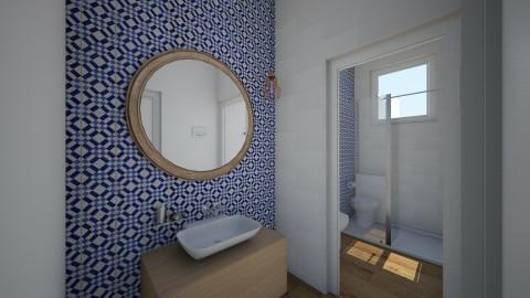 banheiro reforma - Bathroom - by daanilopess