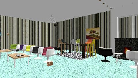 color - Vintage - Living room - by Jazmine Wilson