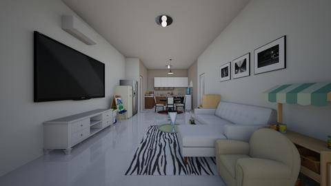 lebaran - Living room - by sasasaaaw