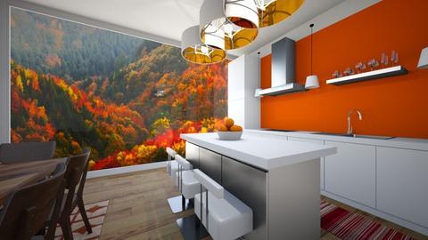 Autumn Kitchen - Kitchen - by Deathlyhallows394