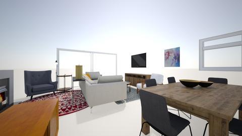 Jesus e Cris  - Retro - Living room - by ttp_nomundo