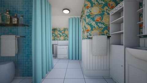 Family Bath _ for mom - Bathroom - by chania