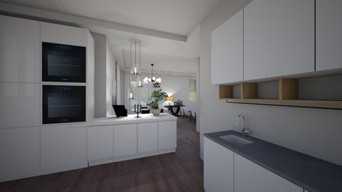 silvia cucina aperta1 - Eclectic - Living room - by gloria marietti