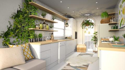 Bohemian Kitchen - Kitchen - by Vlad Silviu