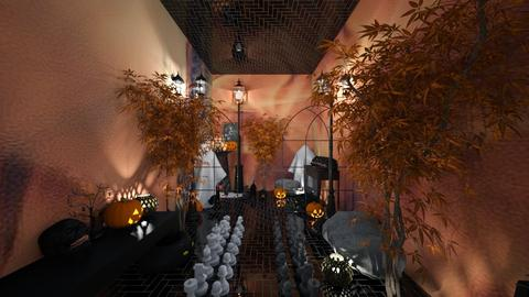 halloween - Living room - by belle alderton