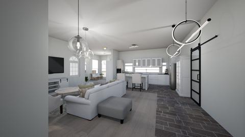 White 7 - Living room - by Niva T