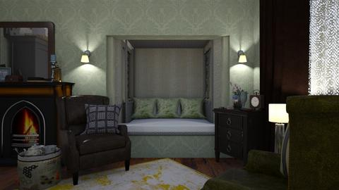 Eclectic Bedroom - Bedroom - by ElleP