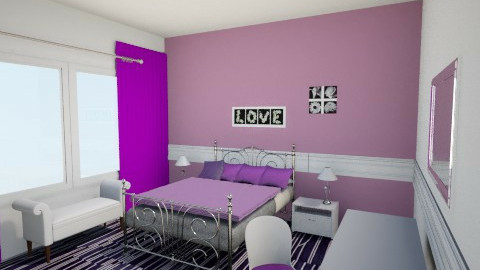 Purple Beauty - Glamour - Bedroom - by mgirl