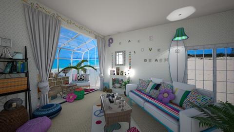 Modern Boho - Living room - by ElleThePimp