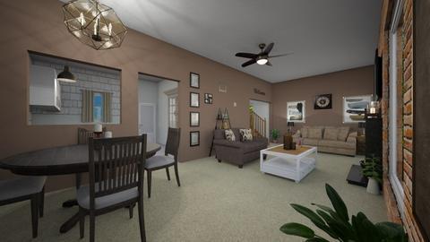 creek rd - Living room - by jdenae3