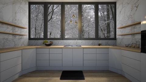 Neutral - Kitchen - by Miflower