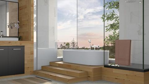forthebirds - Bathroom - by Kelli Mallory