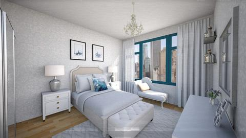 Central Park Apt Bdr 1 - Classic - Bedroom - by mdesign13