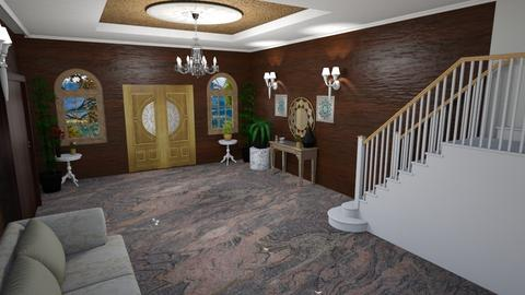 Foyer Stairs - Glamour - by alonatech_2nd