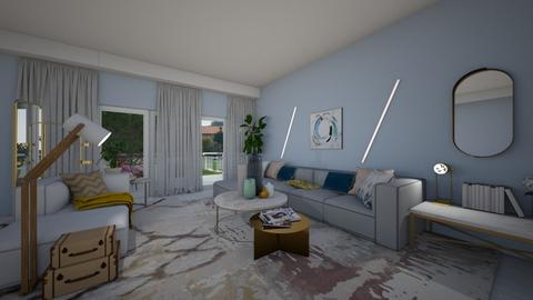 Modern playful living - Living room - by Cristina Stramaglia