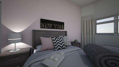 My bedroom - Modern - Bedroom - by jenni2372