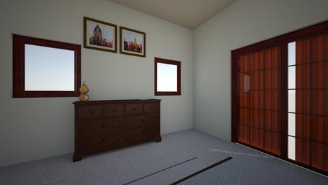rustic bedroom - Rustic - Bedroom - by deaziascott