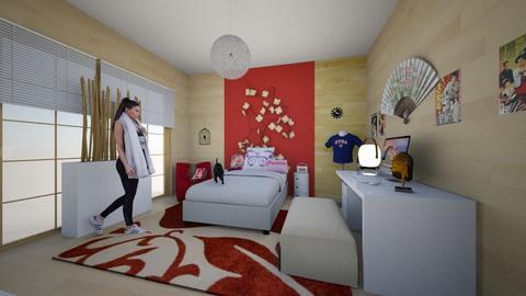Zen Daisy - Kids room - by Marta Perkowska