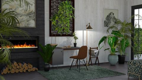 Urban Jungle Office - Office - by kyrabaldwin