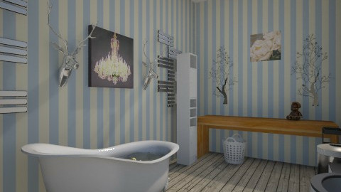 Rustic Bath - Rustic - Bathroom - by jlove9449