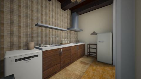 rustic - Rustic - Kitchen - by Angela Quintieri