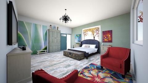 Guest Getaway  - Bedroom - by mickey896