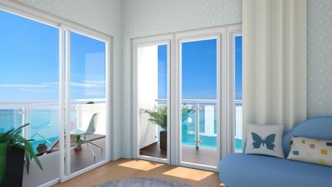 SCENENARY BEDROOM - Living room - by Monica V Seke