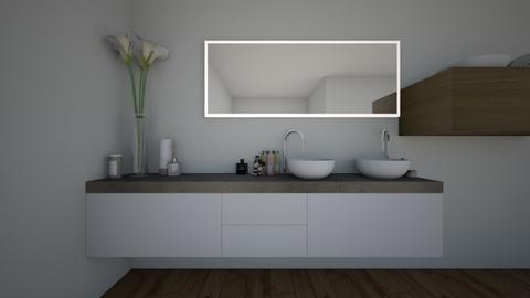Jo - Bathroom - by Linneawiman