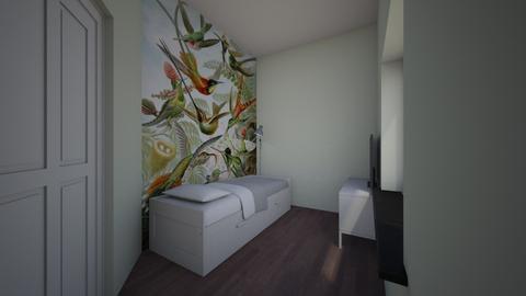 voorkamer birds green - Bedroom - by TRMVM
