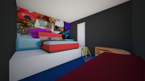 Blah - Bedroom - by AshleyRowland01