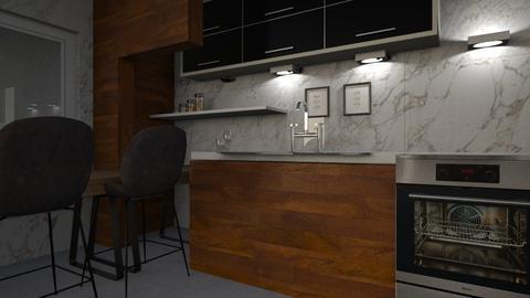 1163 2 - Kitchen - by Riki Bahar Elbaz