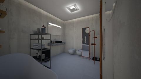bathroom - Modern - Bathroom - by Martyna D